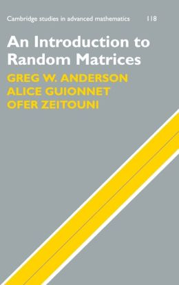 An Introduction to Random Matrices
