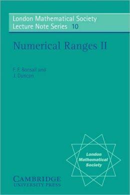 Numerical Ranges II