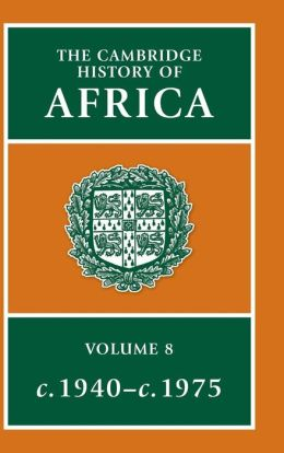 The Cambridge History of Africa