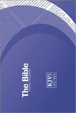 KJV Transetto Text Purple Paperback