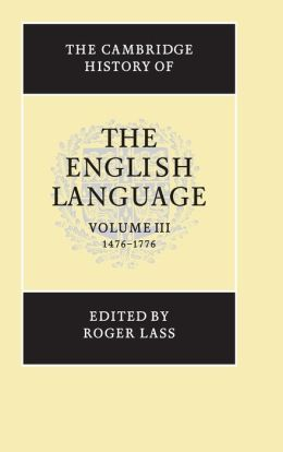 The Cambridge History of the English Language