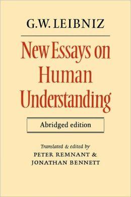 New Essays on Human Understanding Abridged edition
