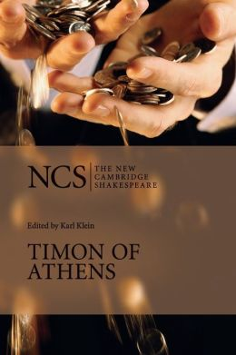 Timon of Athens (The New Cambridge Shakespeare series)