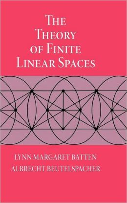 The Theory of Finite Linear Spaces: Combinatorics of Points and Lines