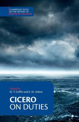 Cicero: On Duties