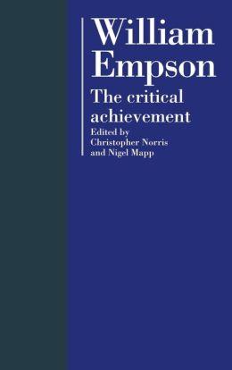 William Empson: The Critical Achievement