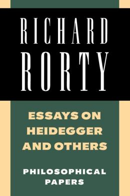 Essays on Heidegger and Others: Philosophical Papers