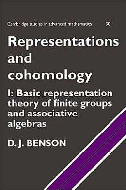 Representations and Cohomology, Volume 1: Basic Representation Theory of Finite Groups and Associative Algebras