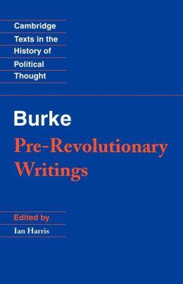 Pre-Revolutionary Writings