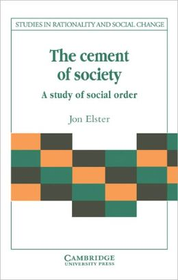 The Cement of Society: A Survey of Social Order