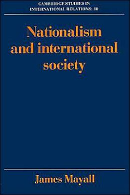 Nationalism and International Society
