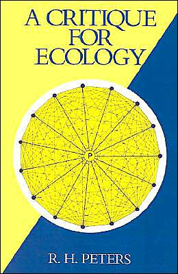 A Critique for Ecology