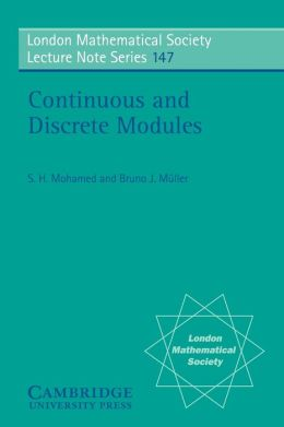 Continuous and Discrete Modules