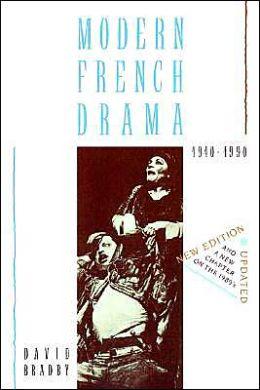 Modern French Drama, 1940-1990