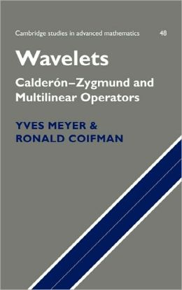 Wavelets: Calderon-Zygmund and Multilinear Operators