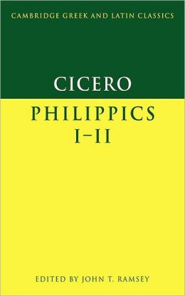 Cicero: Philippics I-II
