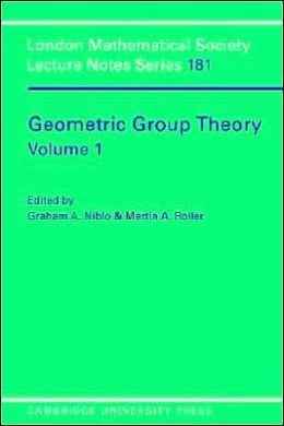 Geometric Group Theory, Volume 1