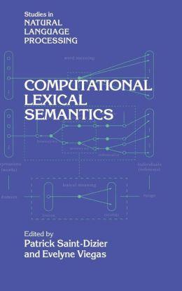 Computational Lexical Semantics