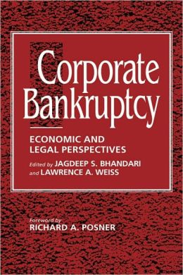 Corporate Bankruptcy: Economic and Legal Perspectives
