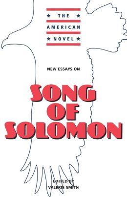 New Essays on Song of Solomon