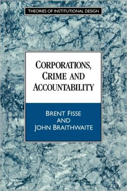 Corporations, Crime and Accountability
