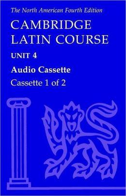North American Cambridge Latin Course Unit 4 Audio Cassette