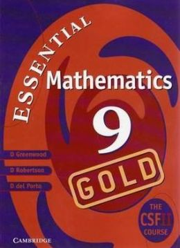 Cambridge Essential Mathematics Gold 9