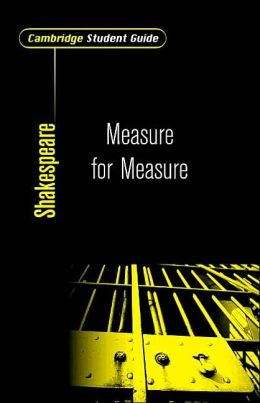 Cambridge Student Guide to Measure for Measure