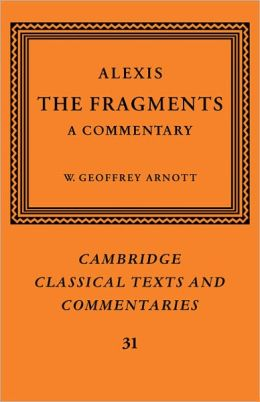 Alexis: The Fragments: A Commentary