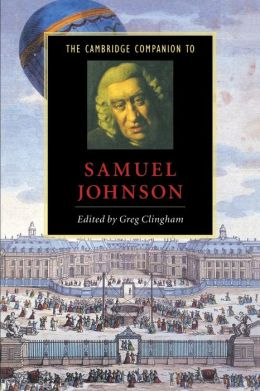 The Cambridge Companion to Samuel Johnson