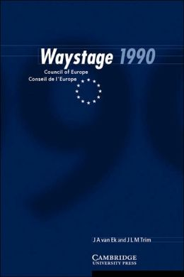 Waystage 1990: Council of Europe Conseil de l'Europe
