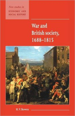 War and British Society, 1688-1815