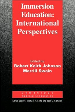 Immersion Education: International Perspectives