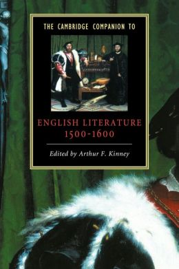 The Cambridge Companion to English Literature, 1500-1600