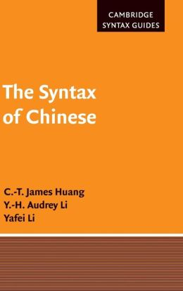 The Syntax of Chinese