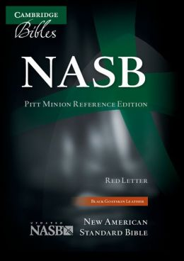 NASB Pitt Minion Reference Black Goatskin NS446XR