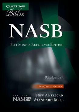 NASB Pitt Minion Reference Black Goatskin NS446XR