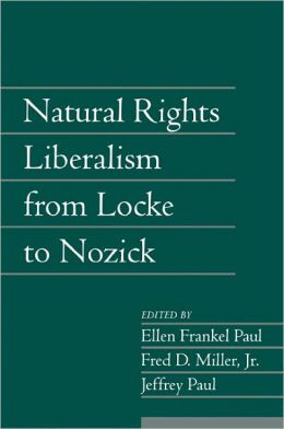 Natural Rights Liberalism from Locke to Nozick, Volume 22, Part 1