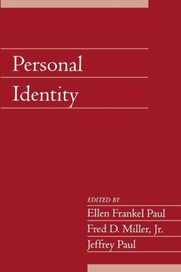 Personal Identity, Volume 22, Part 2
