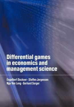Differential Games in Economics and Management Science