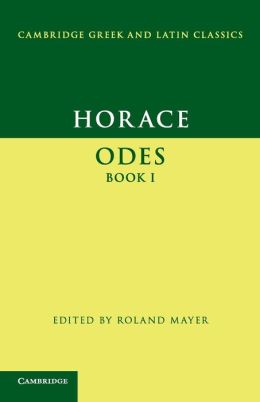 Horace: Odes, Book I