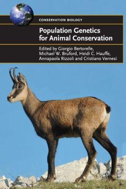 Population Genetics for Animal Conservation