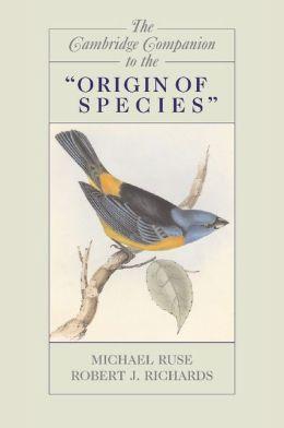 The Cambridge Companion to the 'Origin of Species'