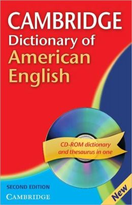 Cambridge Dictionary of American English Paperback with CD-ROM