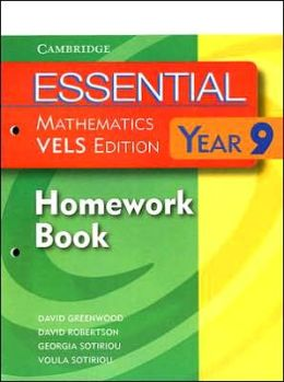 Essential Mathematics for VELS Year 9 Homework Book