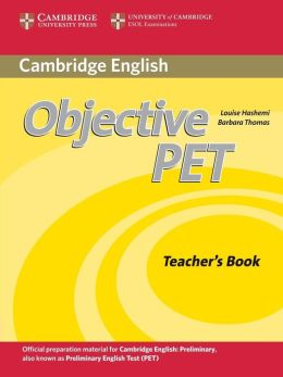 Objective PET Teacher's Book