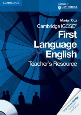 Cambridge IGCSE First Language English Teacher's Resource Book with CD-ROM