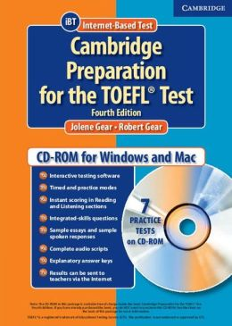 Cambridge Preparation for the TOEFL Test Student CD-ROM
