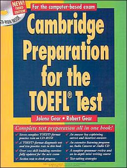 Cambridge Preparation for the TOEFL Test Book/CD-ROM/audio CD
