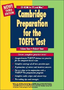 Cambridge Preparation for the TOEFL Test CD-ROM